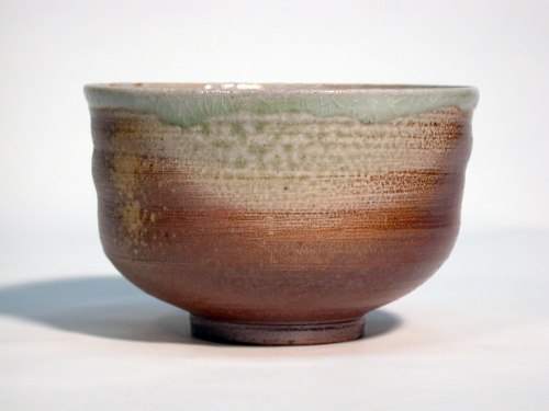 wood fired and salt glazed tea bowl
